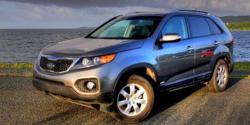 Kia Sorrento at Vieques car rental