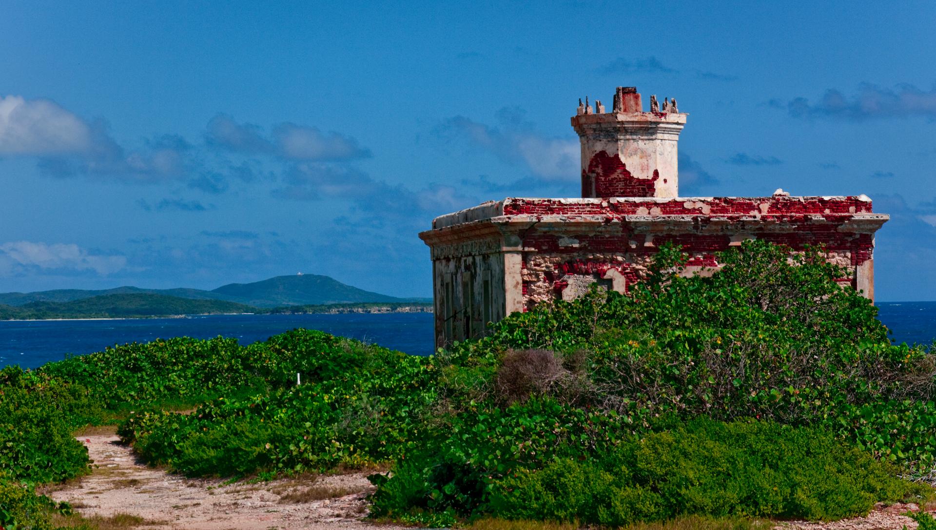 Car Rental Vieques: Puerto Ferro Lighthouse, Vieques, Puerto Rico