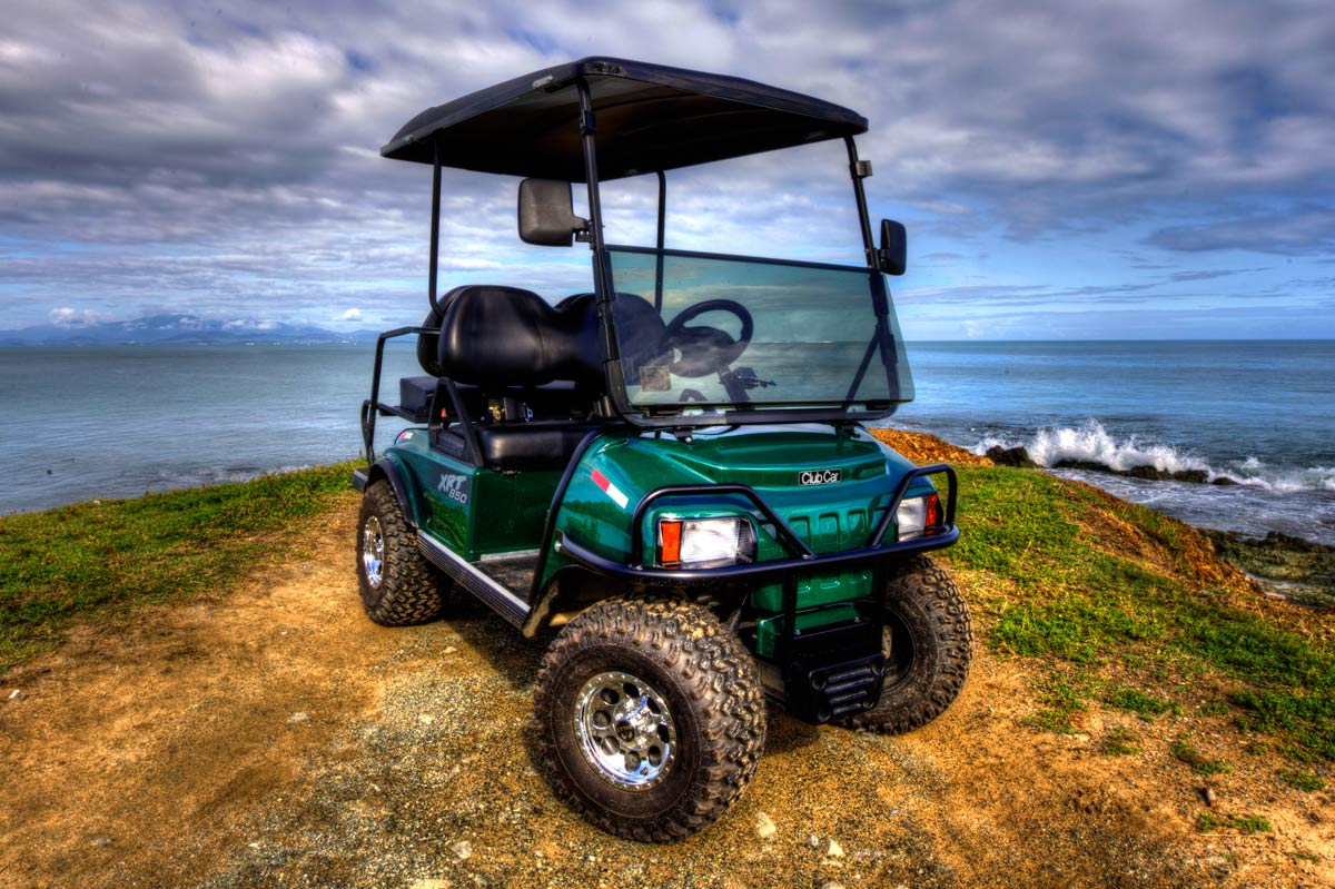 Vieques Golf Cart Vieques Car Jeep And Cart Rental