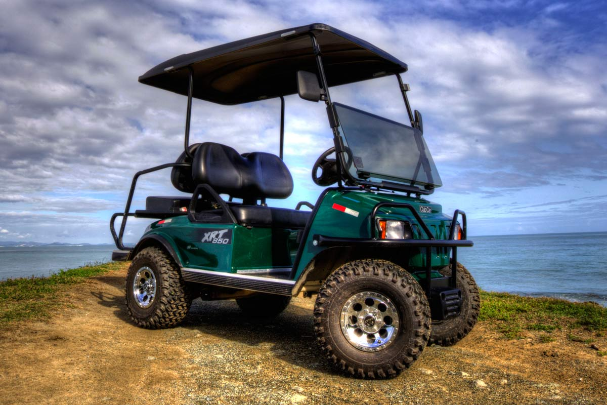 Golf Cart Rental on Vieques