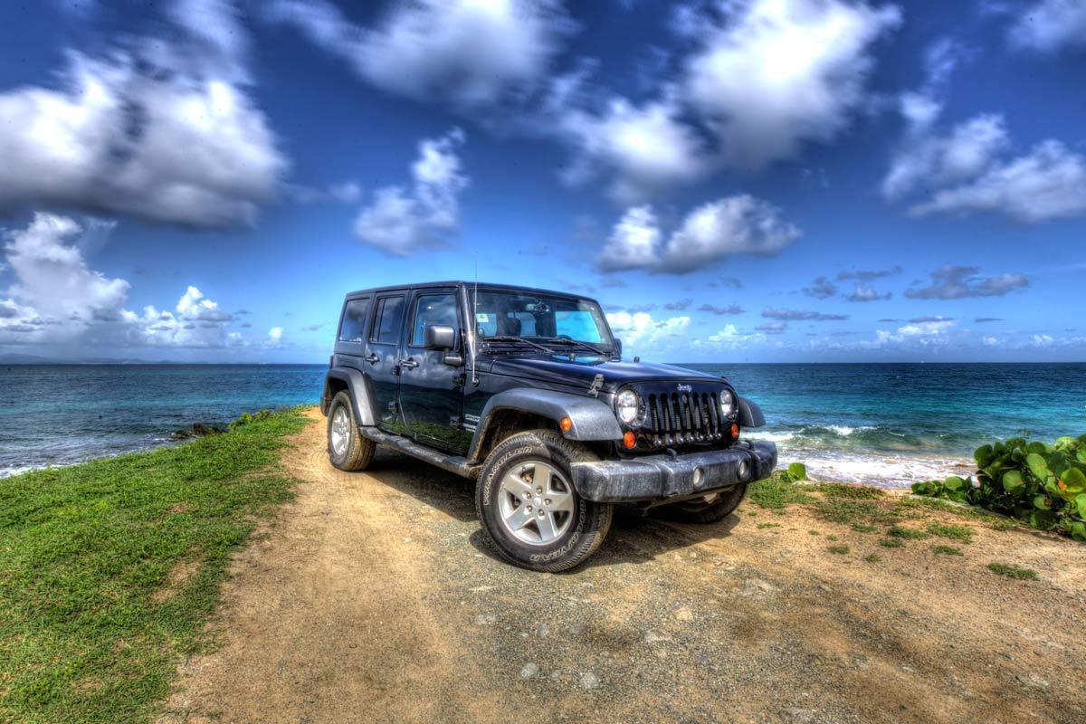 Vieques Jeep Wrangler rental