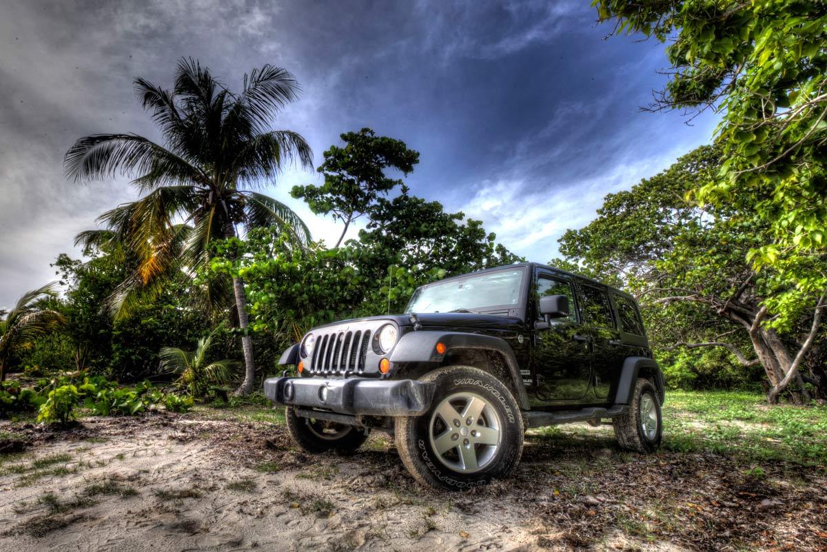 Car Rental Vieques: Jeep Wrangler Rental On Vieques Island, Puerto Rico