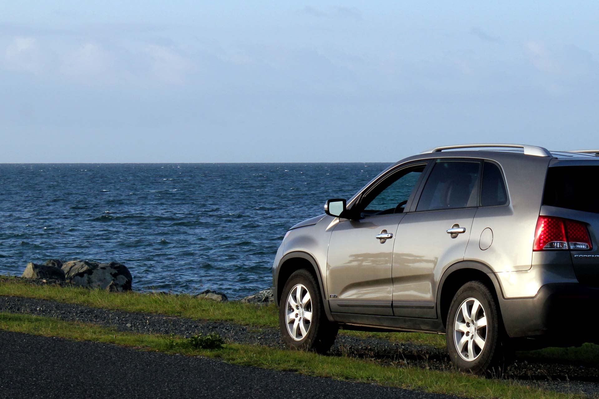 Kia SUV rental on Vieques